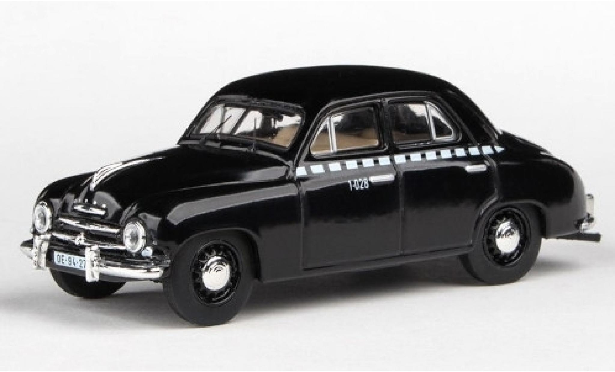 Skoda 120 1/43 Abrex 1 Taxi 1956