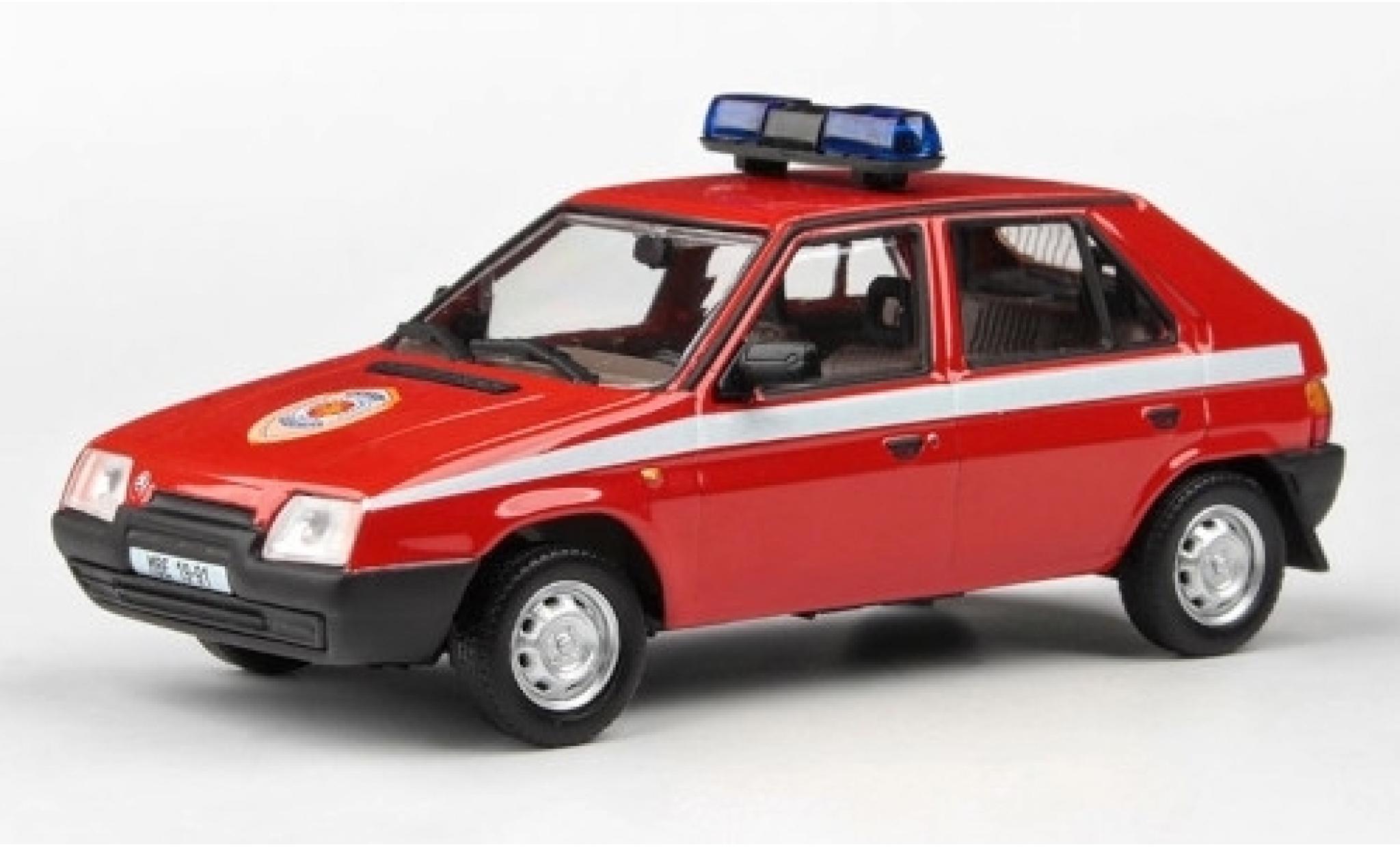 Skoda Favorit 1/43 Abrex 136L Hasici (CZ) 1988 pompiers