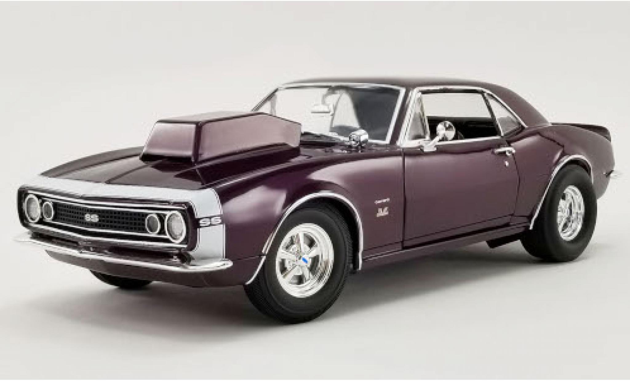 Chevrolet Camaro 1/18 ACME SS Purple Haze lila/blanche 1967