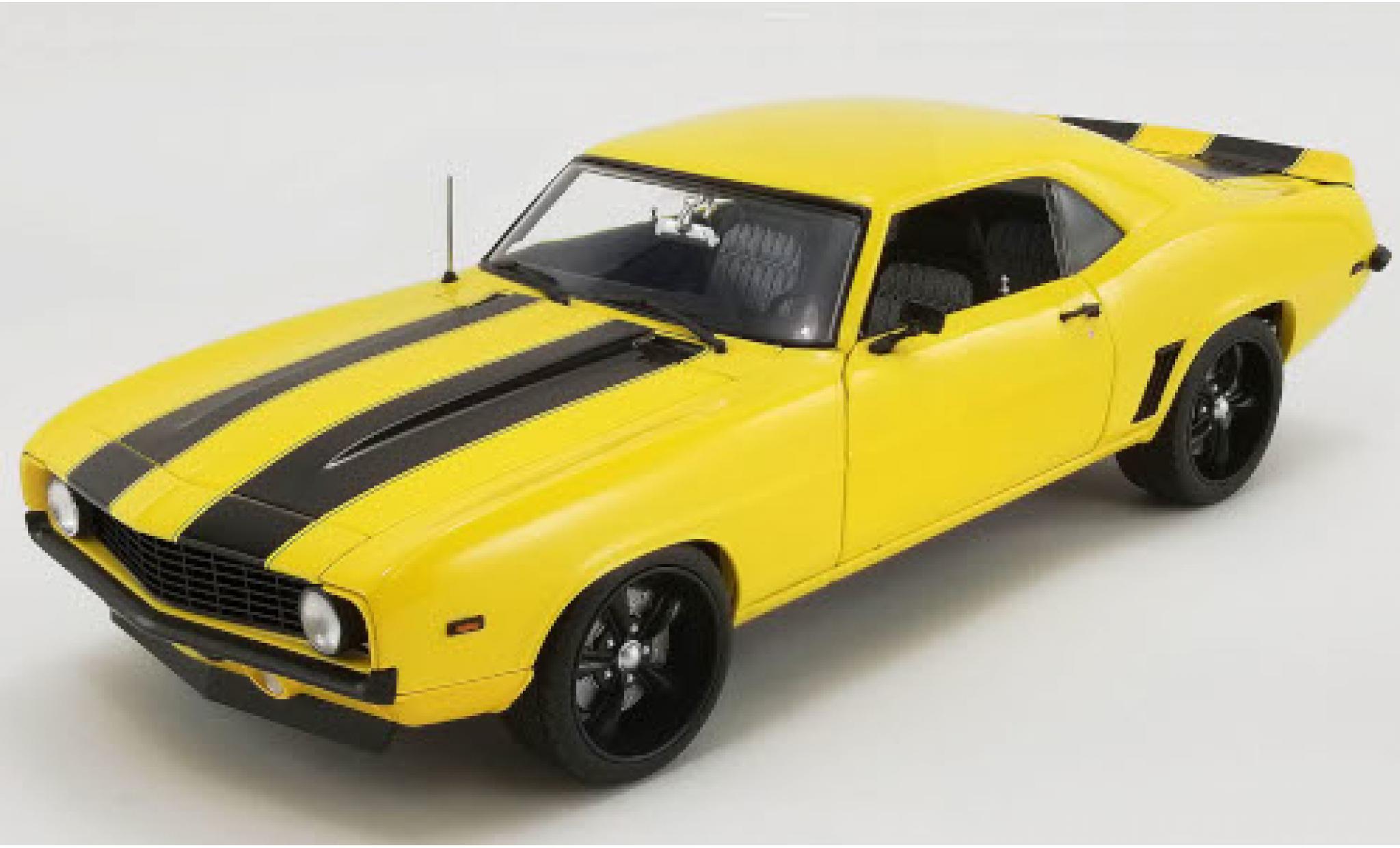 Chevrolet Camaro 1/18 ACME Street Fighter yellow/black 1969 Yellow Jacket