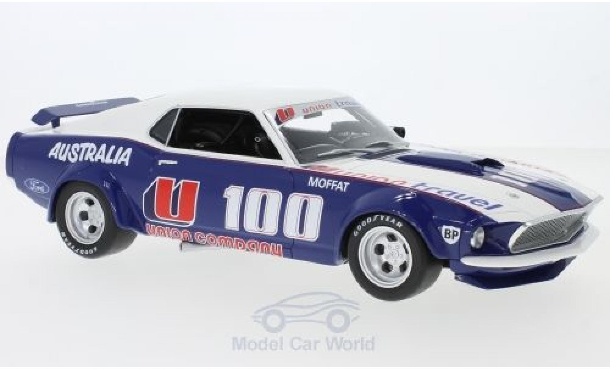 Ford Mustang 1/18 ACME Boss 302 Trans Am No.100 1969 A.Moffat