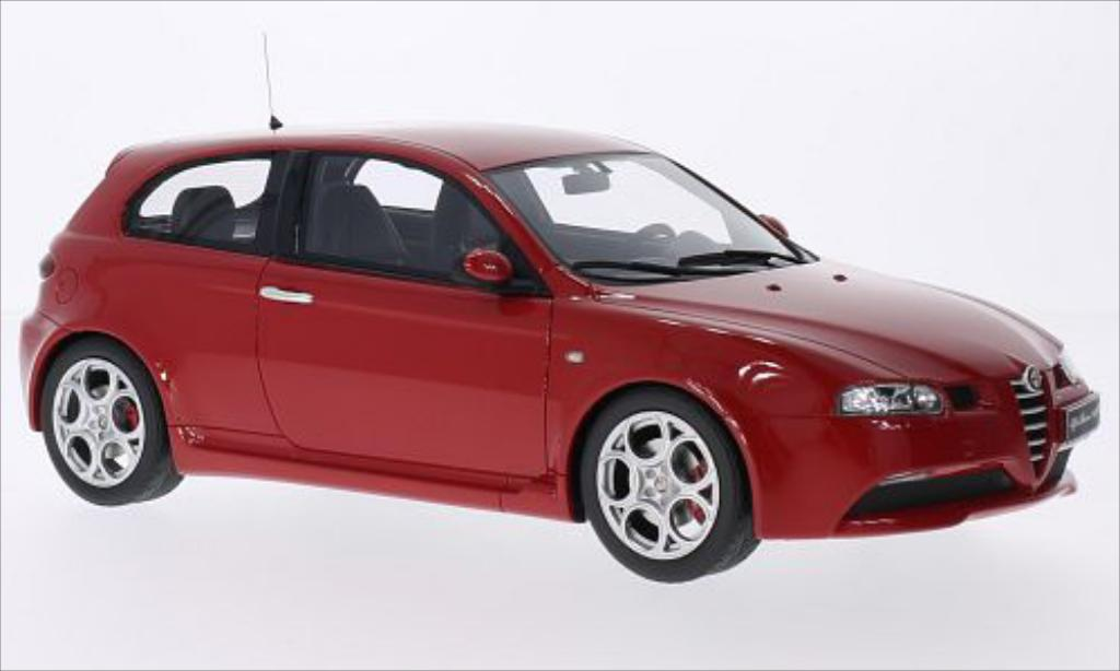 alfa romeo 147 gta miniature rouge ottomobile 1 18 voiture. Black Bedroom Furniture Sets. Home Design Ideas