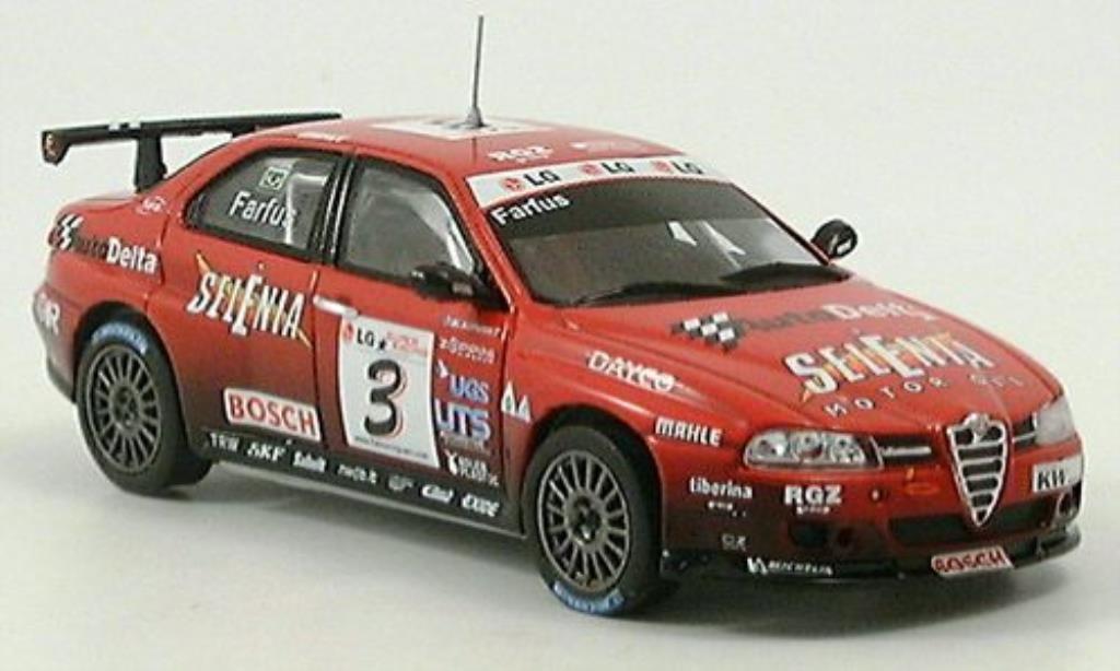 Alfa Romeo 156 1/43 Spark ETCC Farfus No. 3 2004 diecast model cars