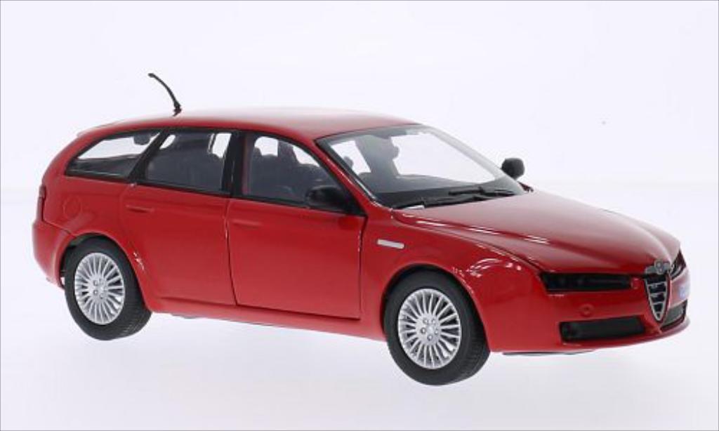 Alfa Romeo 159 1/24 Motormax SW red diecast model cars