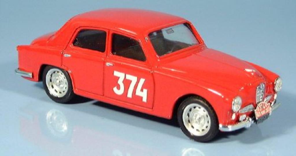 Alfa Romeo 1900 1/43 Brumm No.374 Pochon/Honore Monte Carlo 1955 diecast model cars