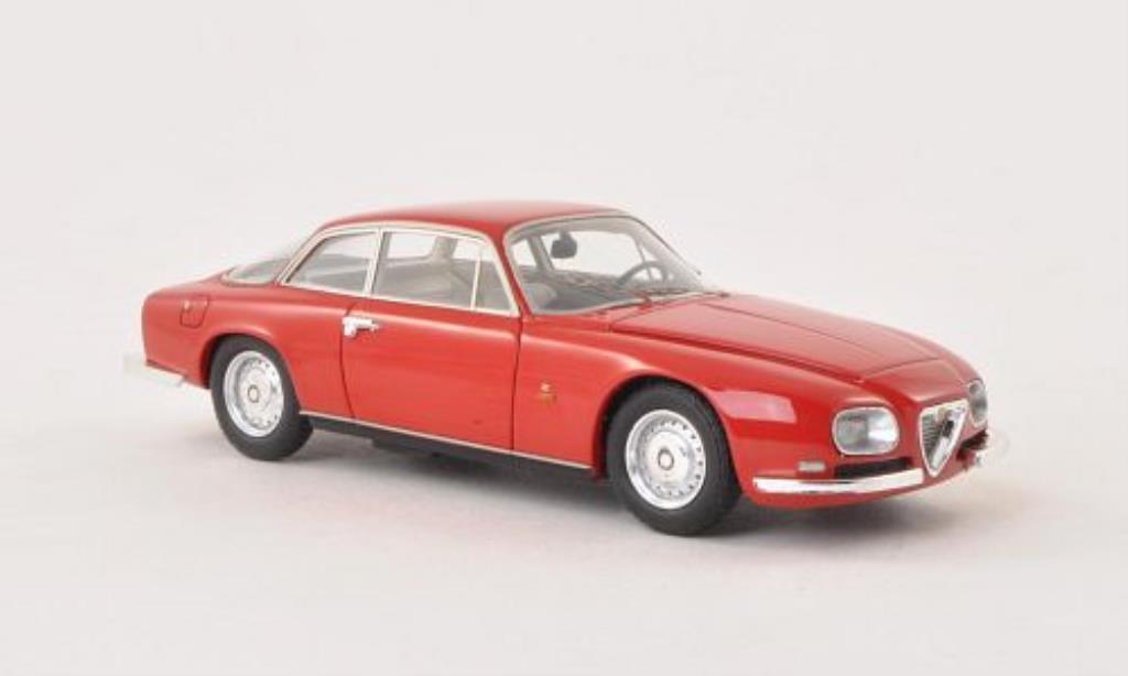Alfa Romeo 2600 1/43 Neo Sprint Zagato rouge 1967 miniature