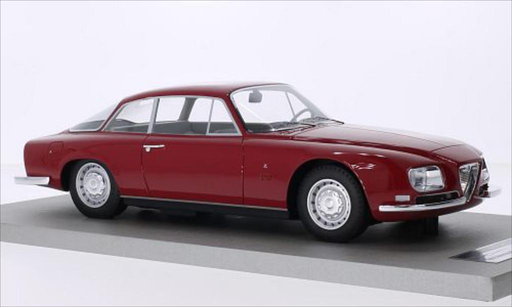 Alfa Romeo 2600 1/18 Tecnomodel SZ rosso 1967