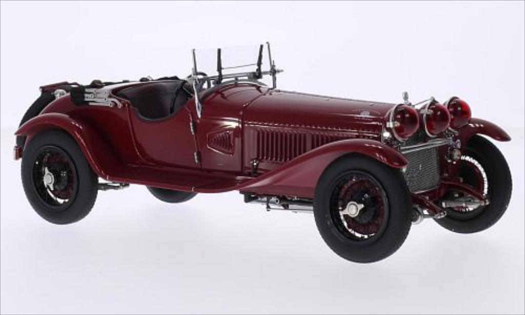 Alfa Romeo 6C 1750 Gran Sport dunkelred RHD 1930 CMC. Alfa Romeo 6C 1750 Gran Sport dunkelred RHD 1930 miniature 1/18