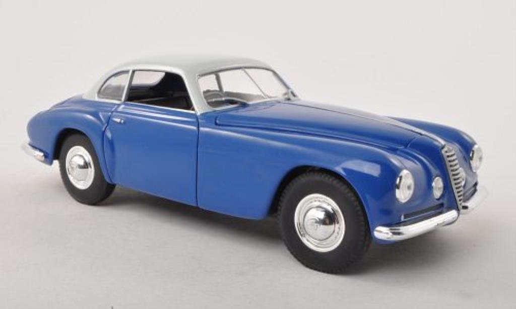 Alfa Romeo 6C 2500 1/24 WhiteBox SS bleu/grise 1949 miniature