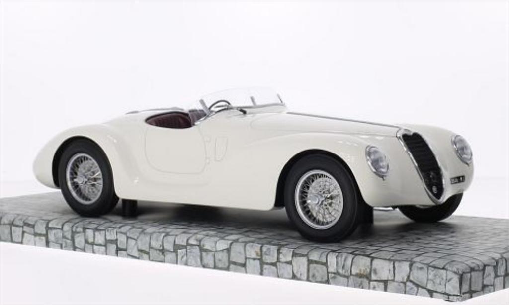 Alfa Romeo 6C 2500 SS Corsa Spider white RHD 1939 Minichamps. Alfa Romeo 6C 2500 SS Corsa Spider white RHD 1939 miniature 1/18