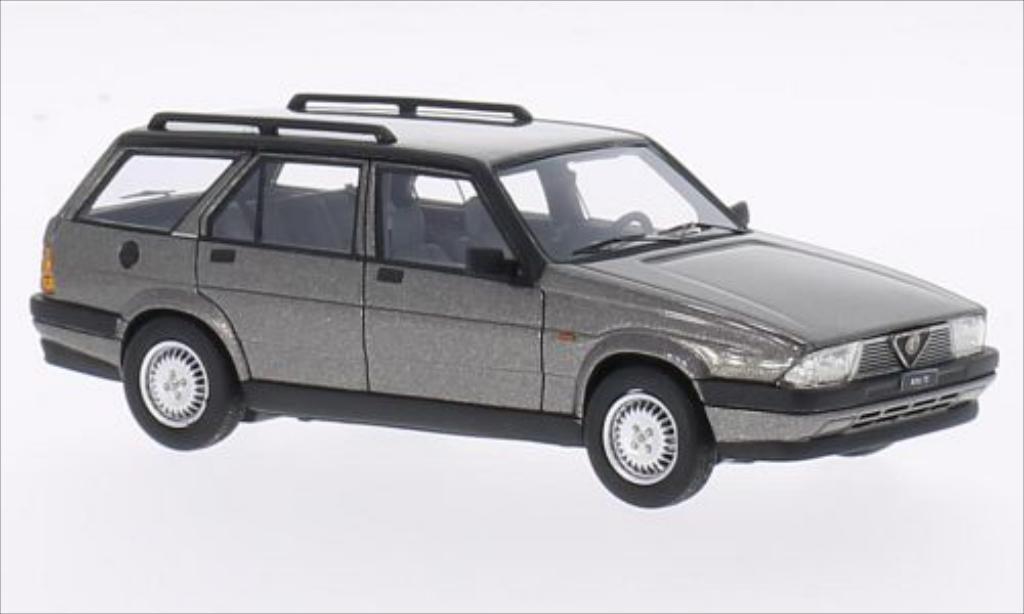 Alfa Romeo 75 1/43 Neo Sportwagon V6 2.5 metallise grise 1986 miniature