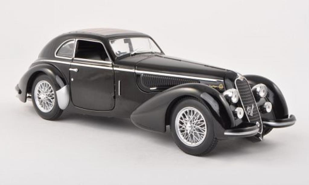 Alfa Romeo 8C 2900 1/24 WhiteBox B nero 1938 miniatura