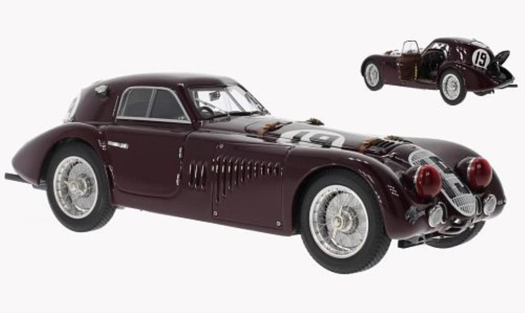 Alfa Romeo 8C 2900 1/18 CMC B Speciale No.19 24h Le Mans 1938 miniature