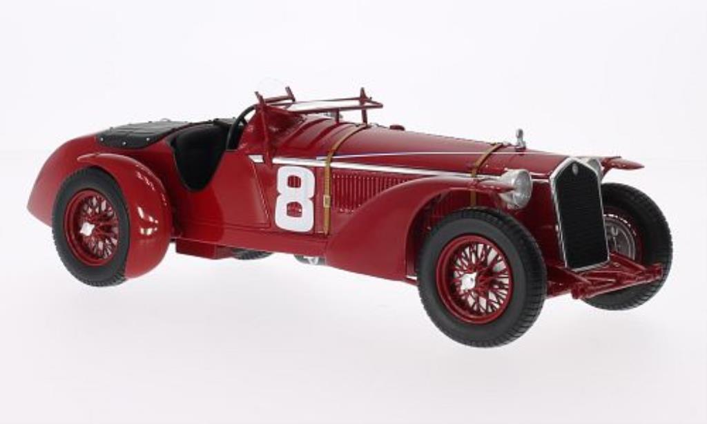 Alfa Romeo 8C 1/18 Spark No.8 24h Le Mans 1932 /L.Chinetti miniature