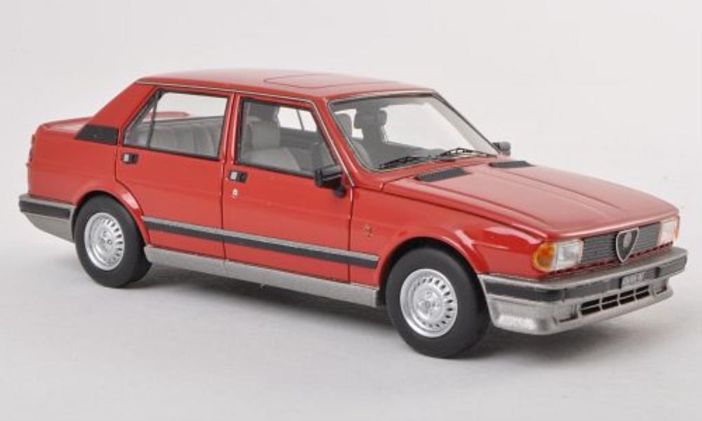 Alfa Romeo Giulietta 1/43 Neo 1.6 rouge 1980 miniature