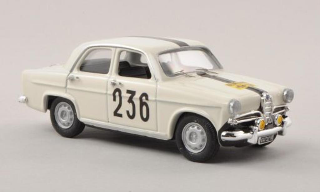 Alfa Romeo Giulietta 1/43 Rio T.I. No.236 Rally Genf 1963 miniature