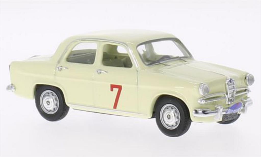 Alfa Romeo Giulietta 1/43 Rio T.I. No.7 Rally des Lions 1961 diecast