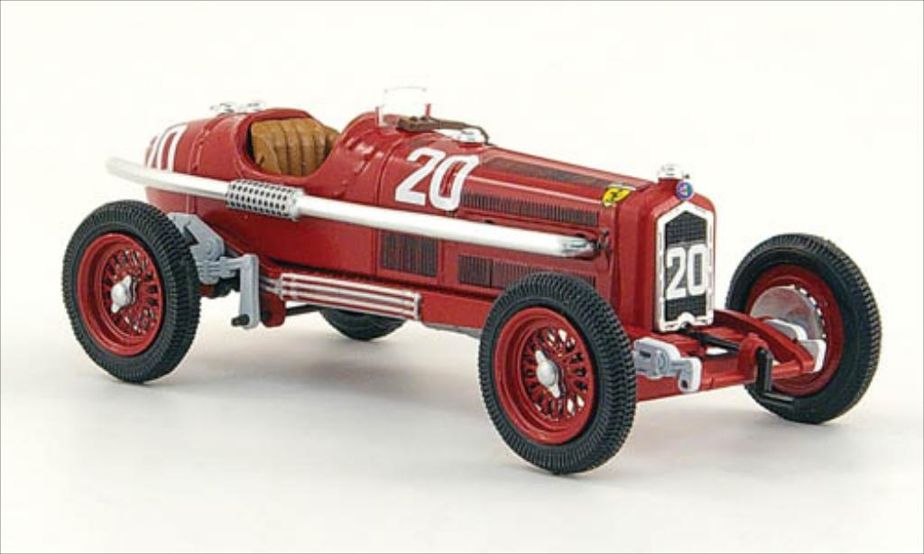 Alfa Romeo P3 1/43 Rio No.20 Targa Florio 1935 diecast model cars