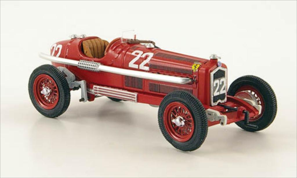Alfa Romeo P3 No.22 Targa Florio 1935 Rio. Alfa Romeo P3 No.22 Targa Florio 1935 miniature 1/43