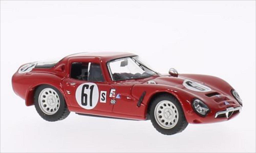 Alfa Romeo TZ2 1/43 Best No.61 Sebring 1966 miniature