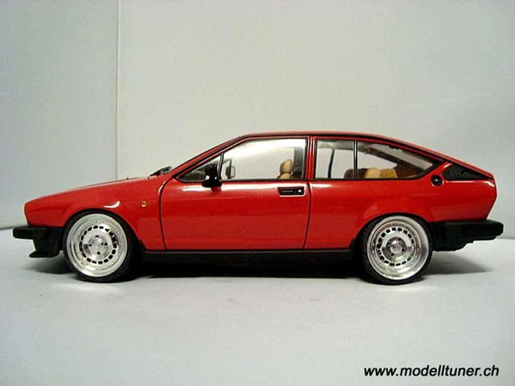 Alfa Romeo GTV 2.0 1/18 Autoart alfetta 1980