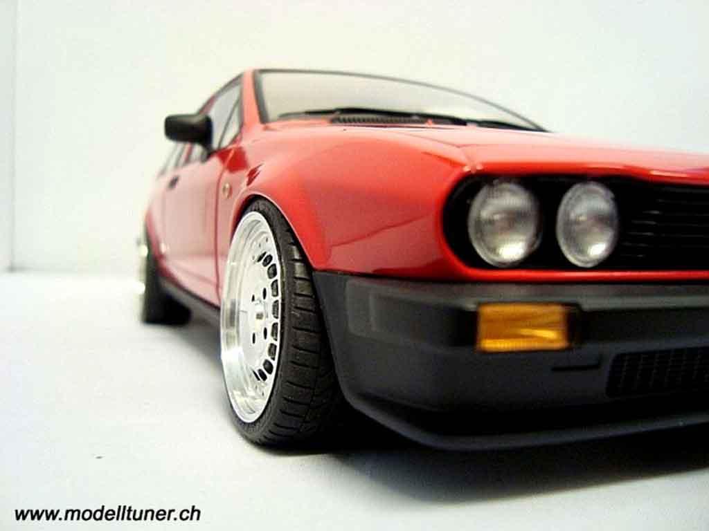 Alfa Romeo GTV 2.0 1/18 Autoart alfetta 1980 tuning miniatura