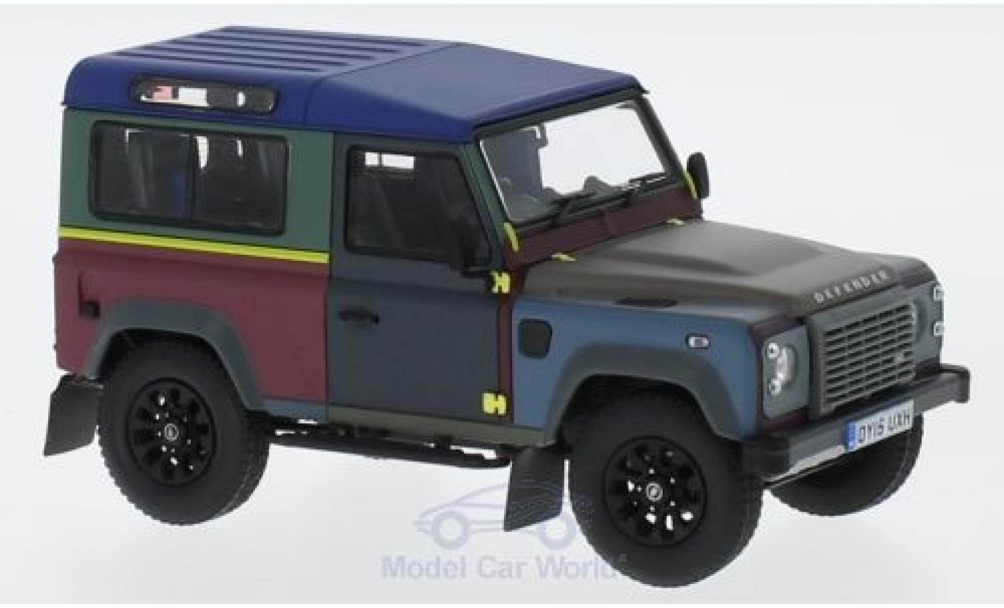 Land Rover Defender 1/18 Almost Real 90 2015 Paul Smith Edition