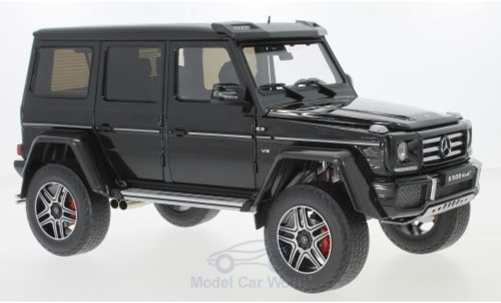 Mercedes Classe G 1/18 Almost Real G500 4x4 noire