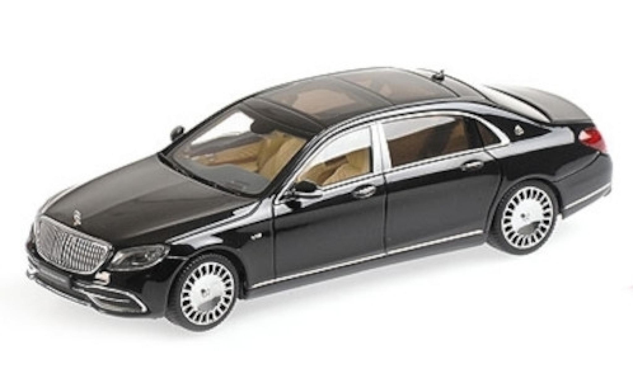Mercedes CLA 1/43 Almost Real Maybach Classe S metallise noire 2019