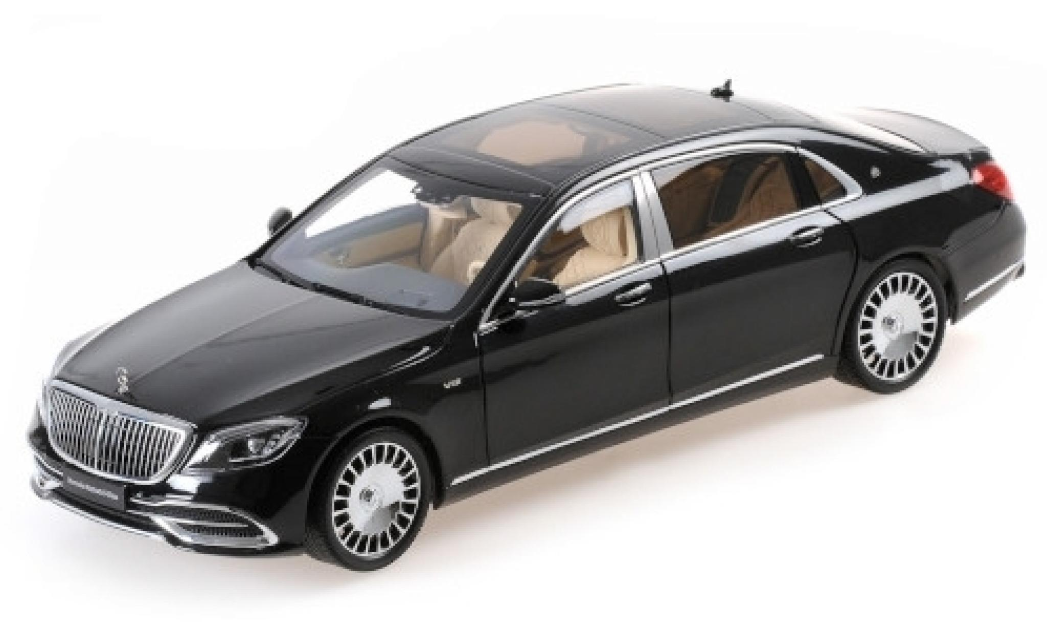 Mercedes CLA 1/18 Almost Real Maybach Classe S noire 2019