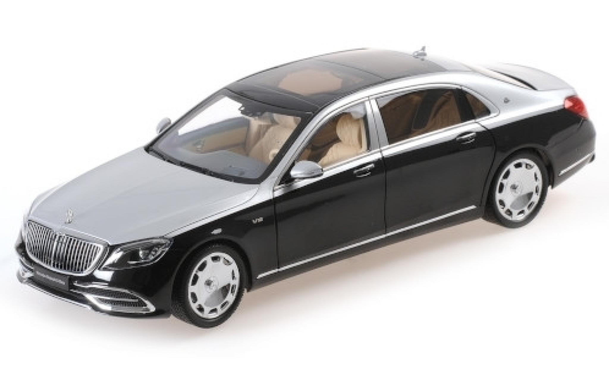 Mercedes CLA 1/18 Almost Real Maybach Classe S black/grey 2019
