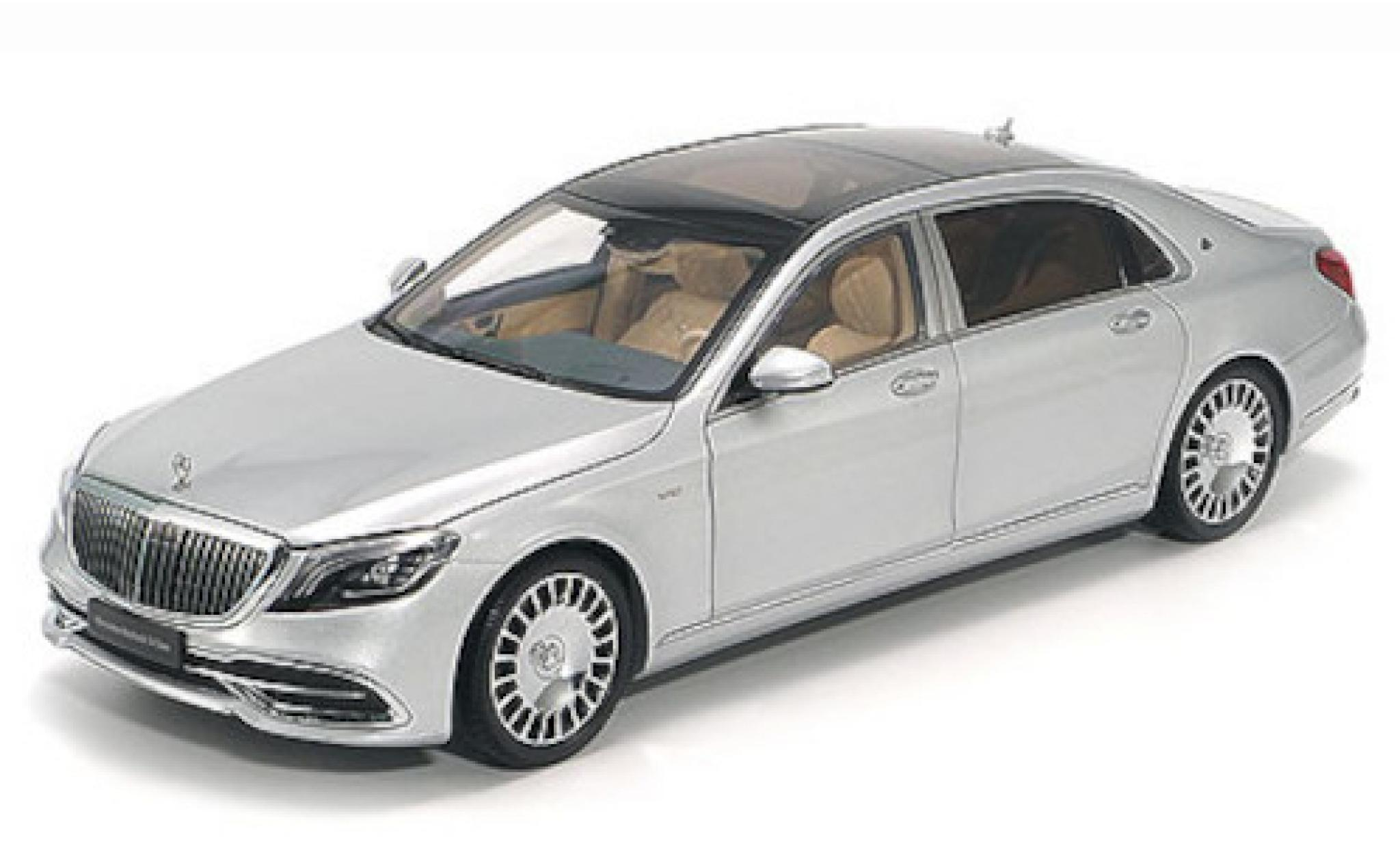 Mercedes CLA 1/43 Almost Real Maybach Classe S grise 2019