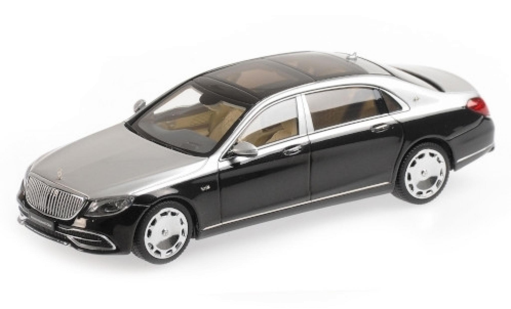 Mercedes Classe S 1/43 Almost Real Maybach S650 (V222) metallise noire/grise 2019
