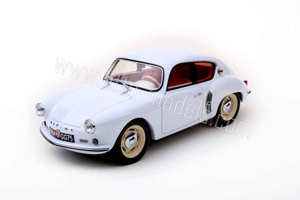 Alpine A106 1/18 Ottomobile 1957 blanco miniatura