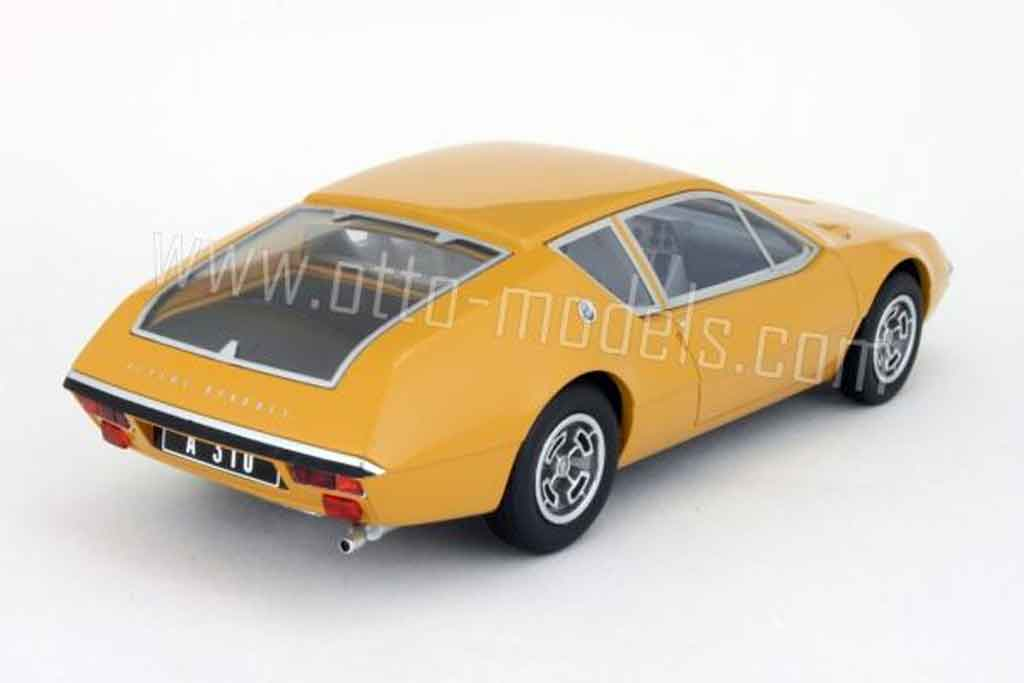 renault alpine a310 miniature 1600 orange 1972 ottomobile 1 18 voiture. Black Bedroom Furniture Sets. Home Design Ideas