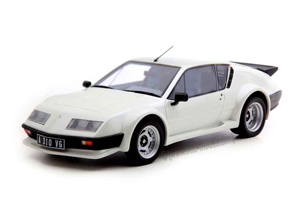 renault alpine a310 miniature pack gt grise ottomobile 1 18 voiture. Black Bedroom Furniture Sets. Home Design Ideas