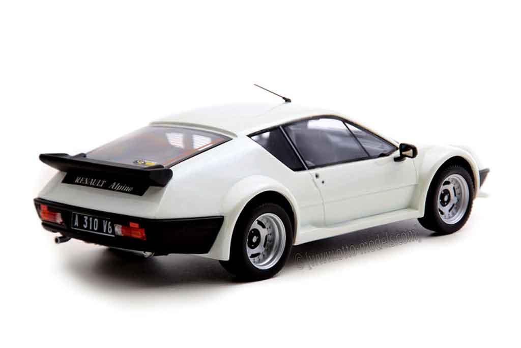 Alpine A310 Pack GT 1/18 Ottomobile grise miniature