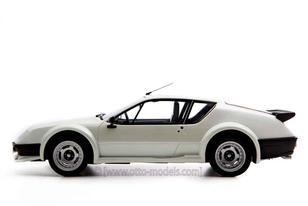 renault alpine a310 miniature pack gt grise ottomobile 1 18 voiture. Black Bedroom Furniture Sets. Home Design Ideas