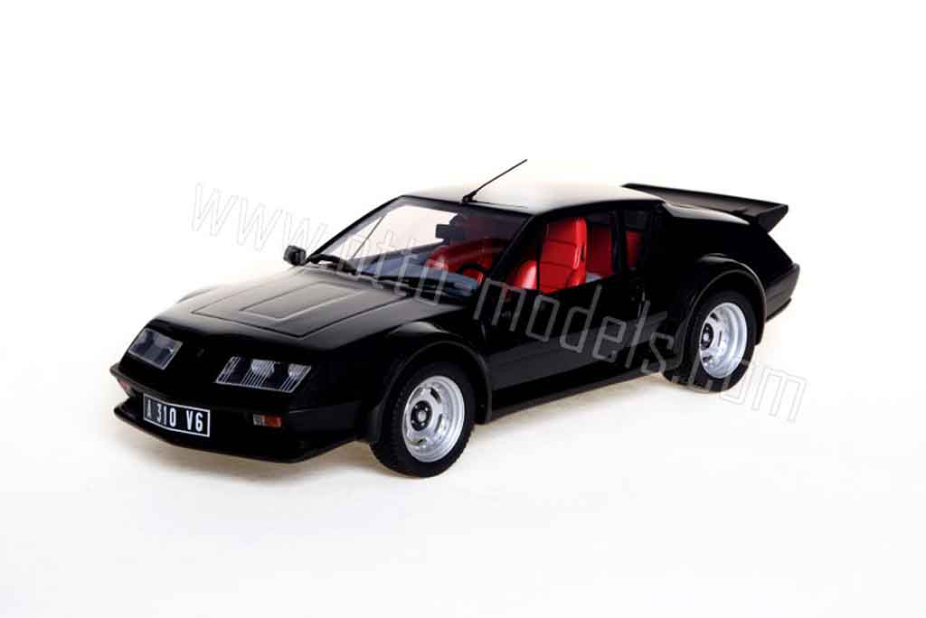 renault alpine a310 miniature pack gt boulogne noire 1983 ottomobile 1 18 voiture. Black Bedroom Furniture Sets. Home Design Ideas