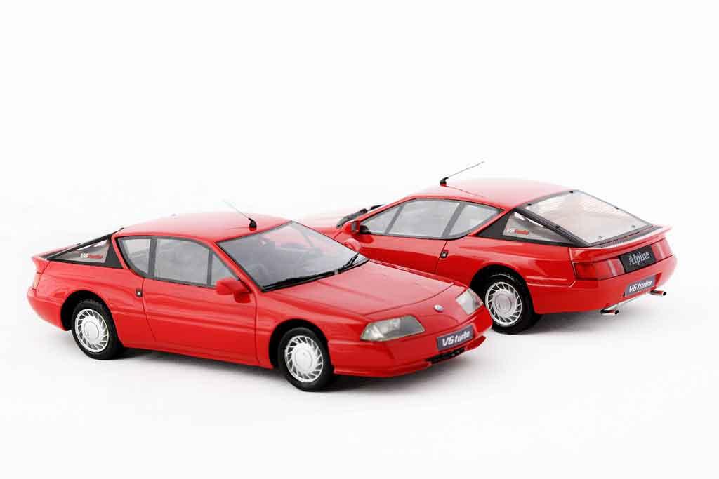 renault alpine gta miniature v6 turbo 1990 rouge ottomobile 1 18 voiture. Black Bedroom Furniture Sets. Home Design Ideas