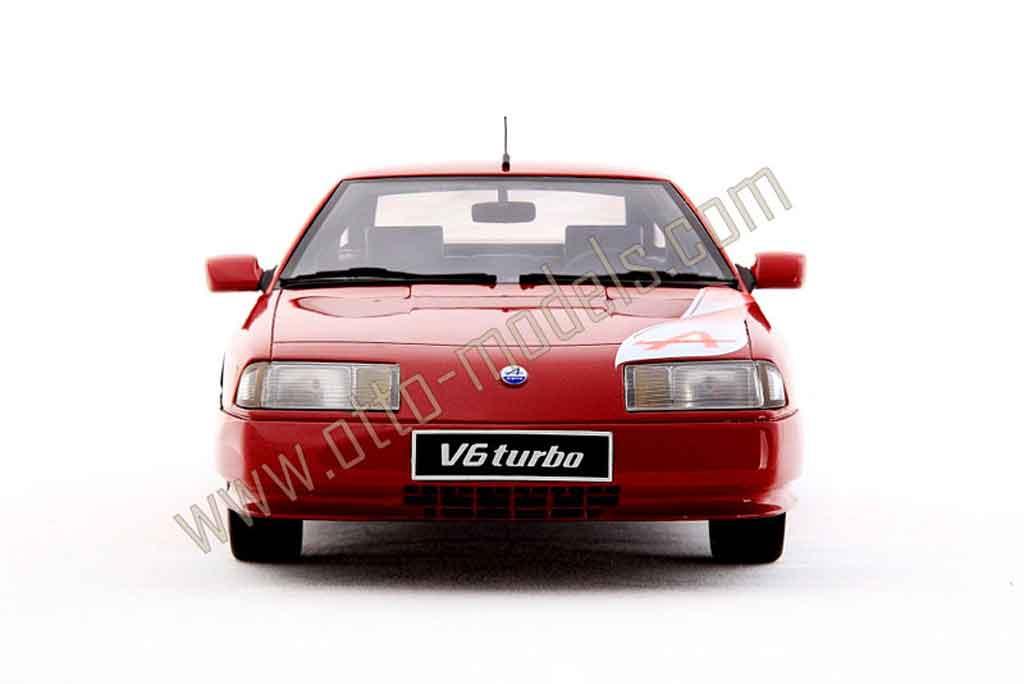 Alpine GTA Mille miles 1/18 Ottomobile rouge 1989 miniature