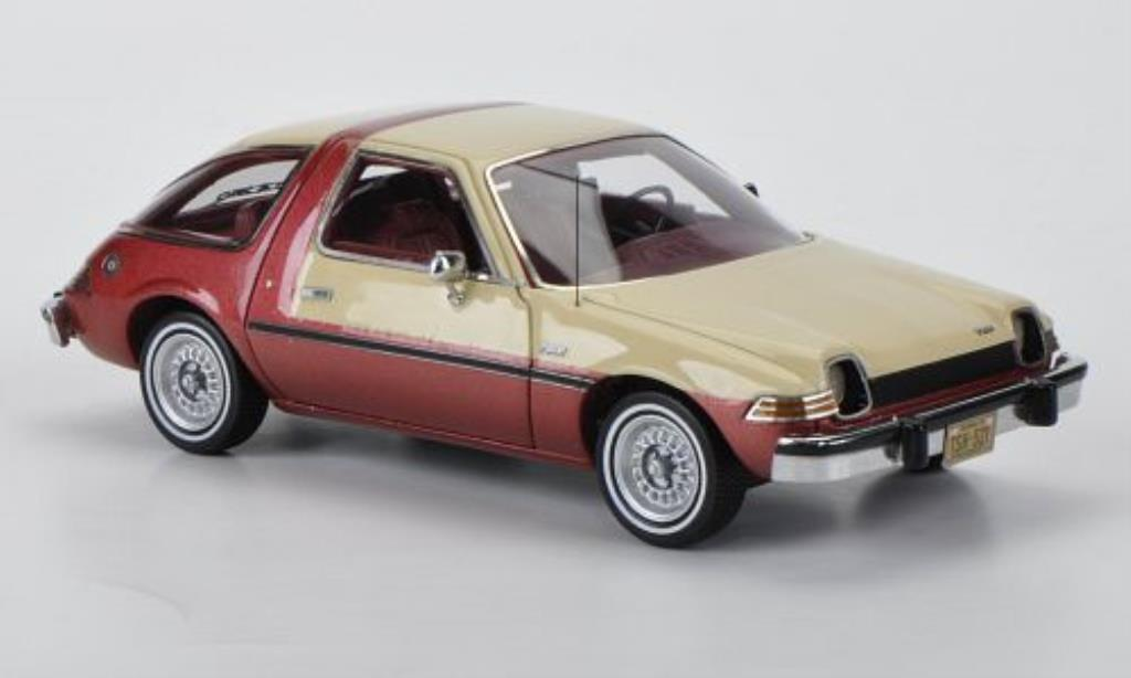 AMC Pacer 1/43 Neo beige/rouge 1975 miniature