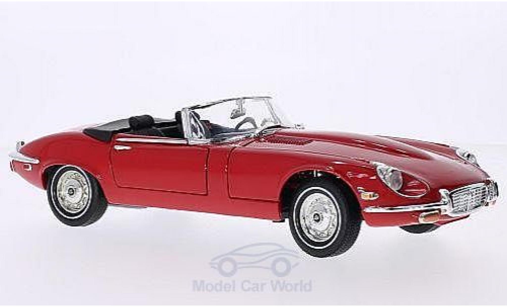 Jaguar E-Type 1/18 American Mint/Motormax rouge 1971