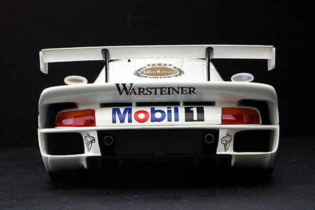 Porsche 996 GT1 1/18 Ut Models fia gt 96 #7 mobil 1