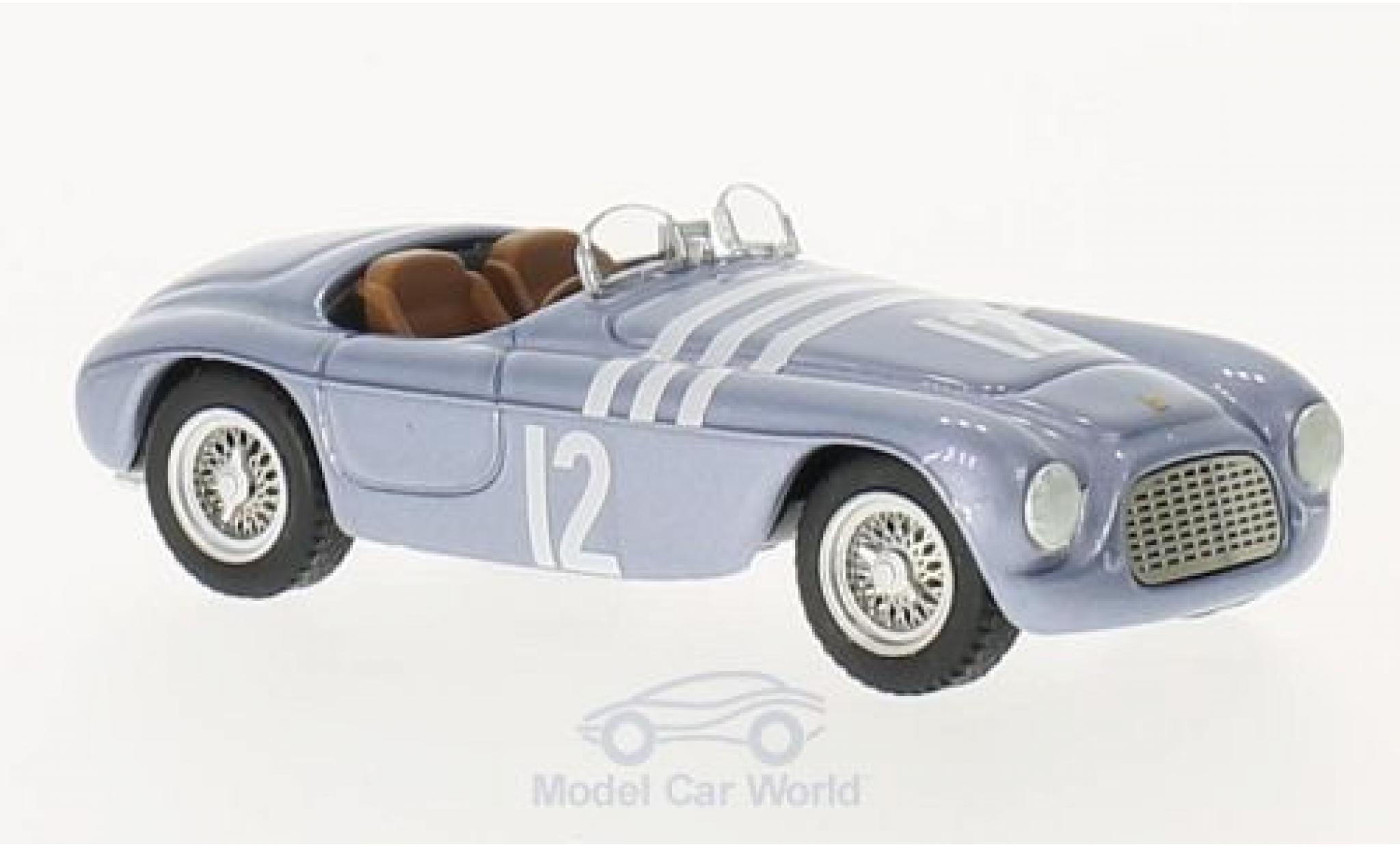 Ferrari 166 1952 1/43 Art Model MM Barchetta No.12 GP Schweden Chassis 0014 V.Stener