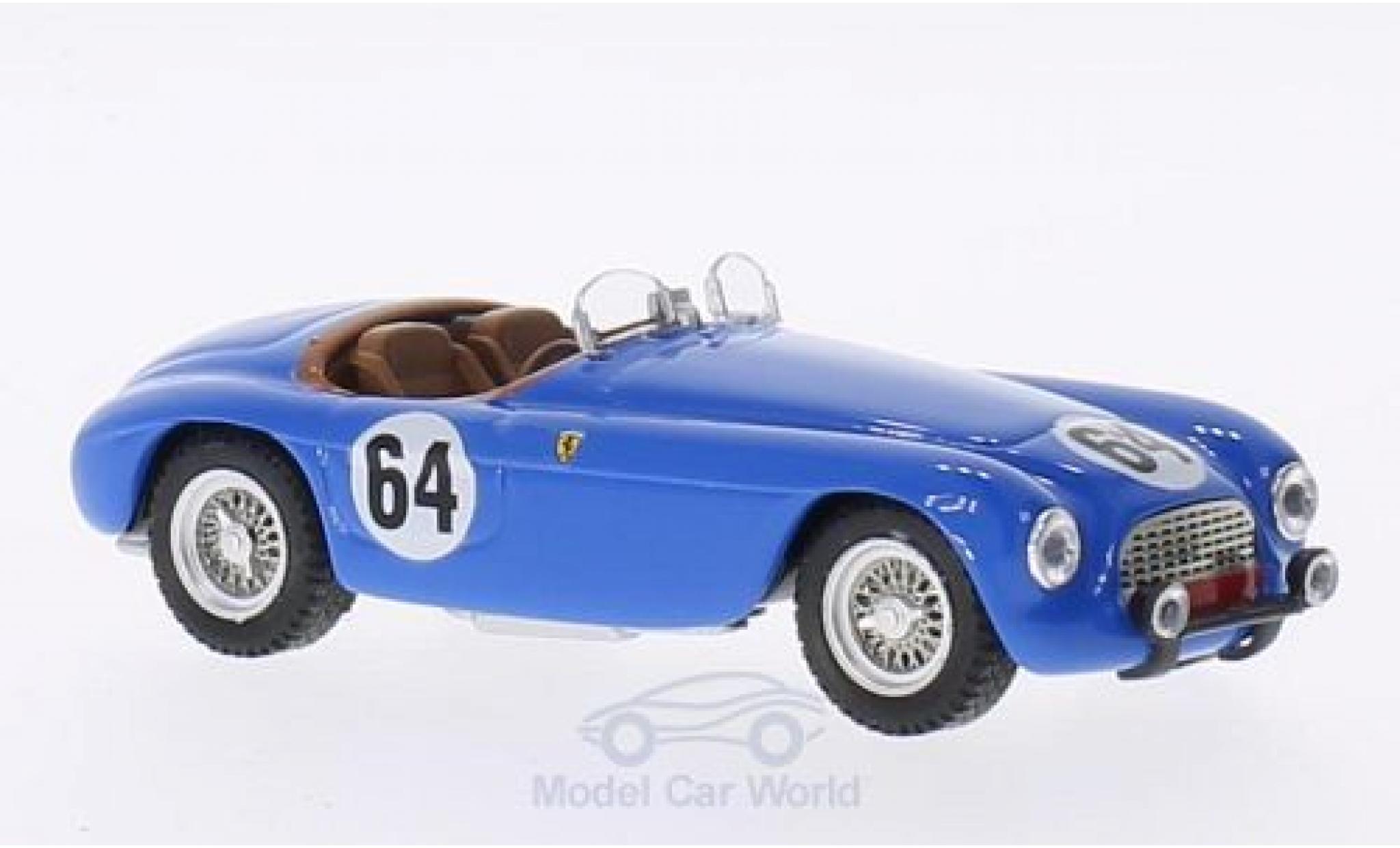 Ferrari 166 1951 1/43 Art Model MM Barchetta No.64 24h Le Mans 1951 R.Bouchard/L.Farnaud
