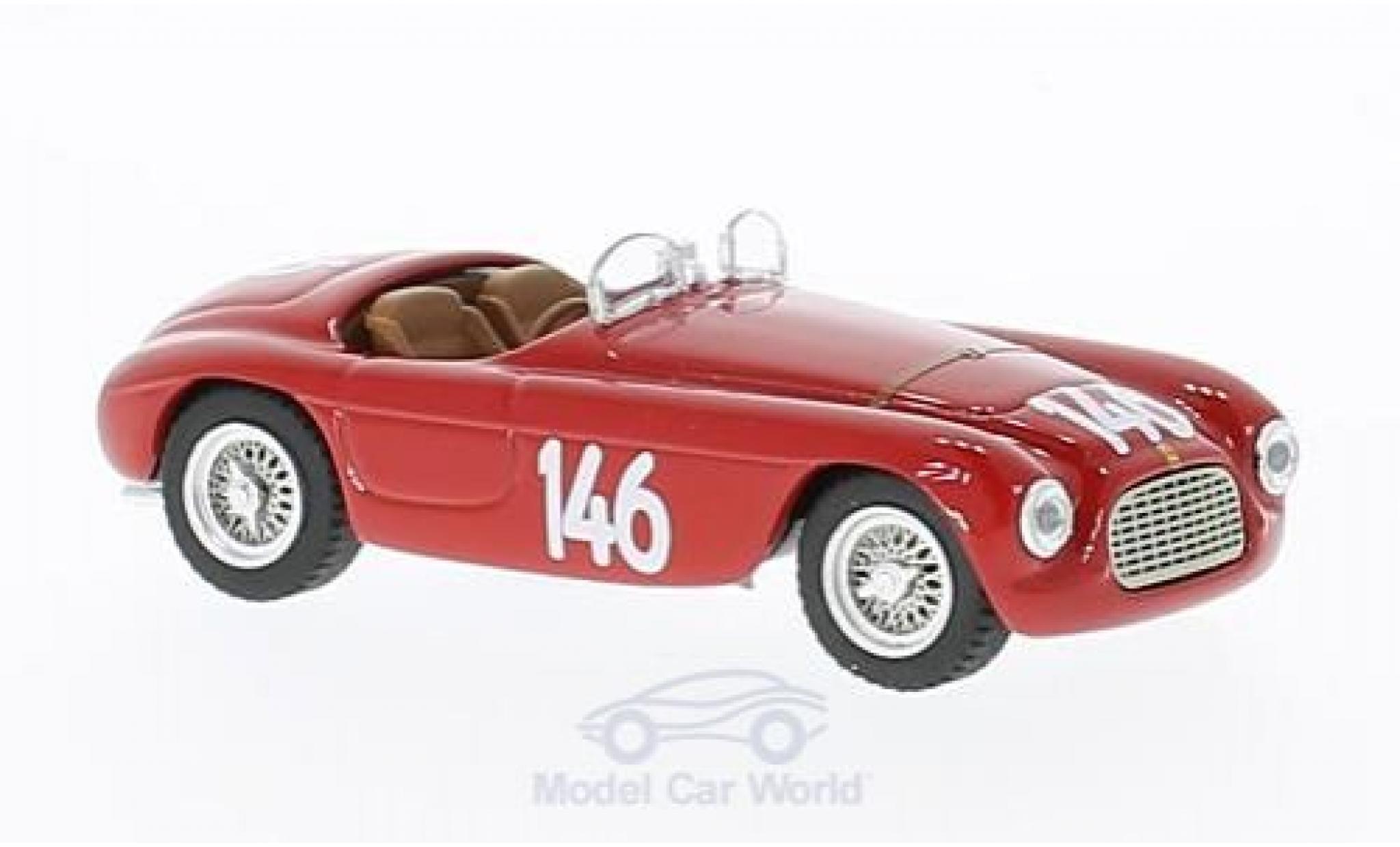 Ferrari 166 1950 1/43 Art Model MM Barchetta RHD No.146 Coppa Dolomiti 1950 Chassis: 0034 G.Marzotto
