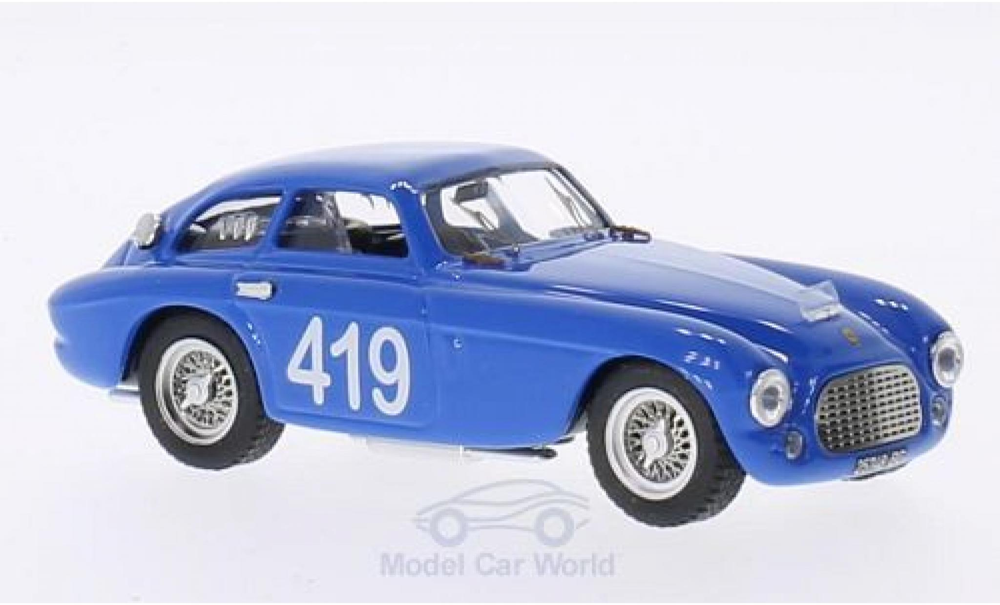 Ferrari 166 1953 1/43 Art Model MM Coupe No.419 Targa Florio G.Musitelli/F.Musitelli