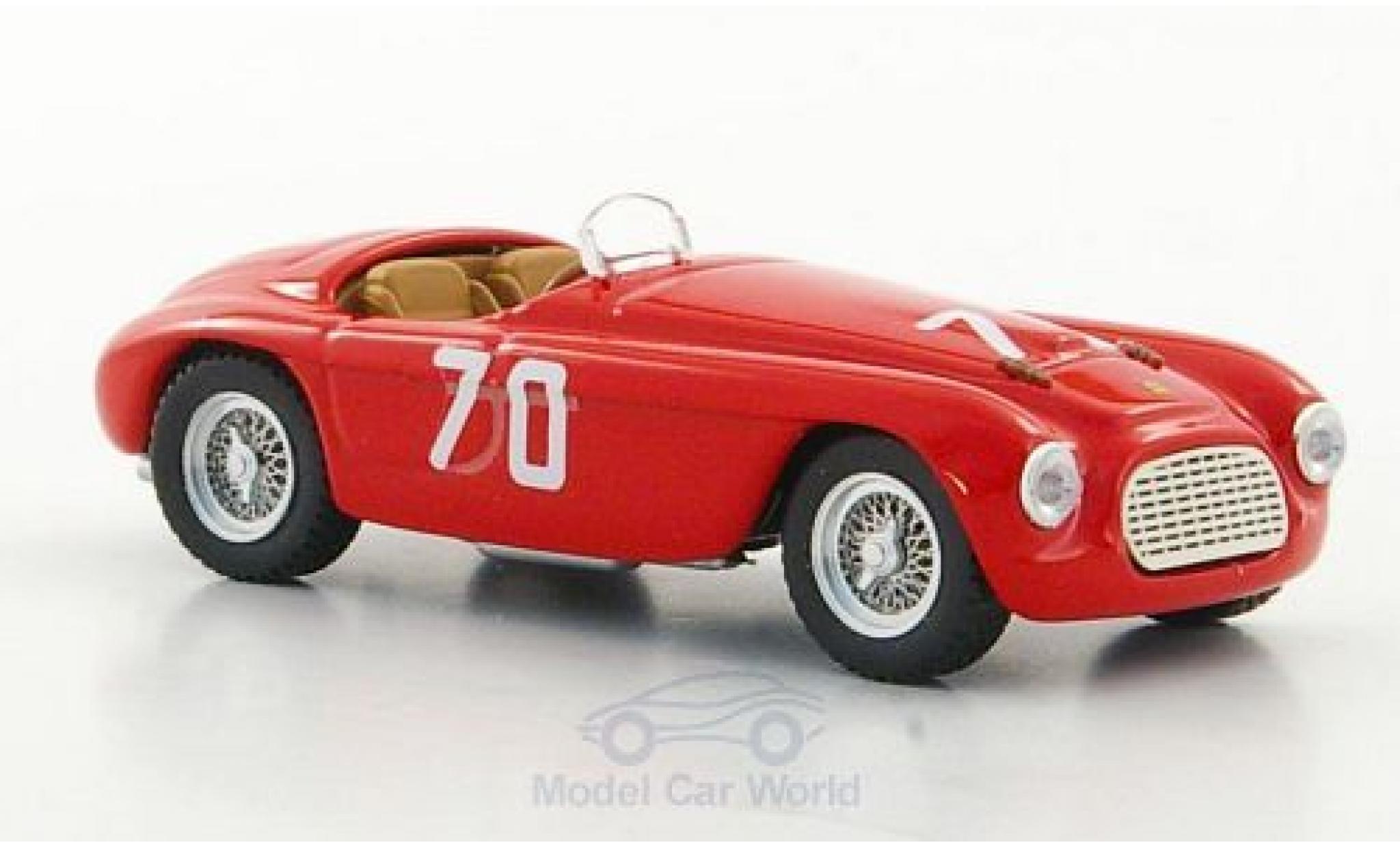 Ferrari 166 1952 1/43 Art Model MM Spyder No.70 Targa Florio E.Giletti