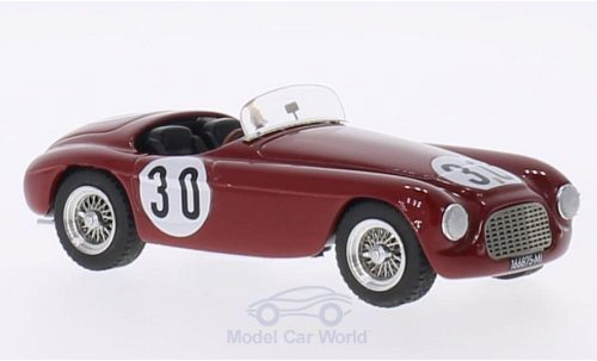 Ferrari 166 1951 1/43 Art Model MM Spyder RHD No.30 GP Portugal 1951 E.Castellotti